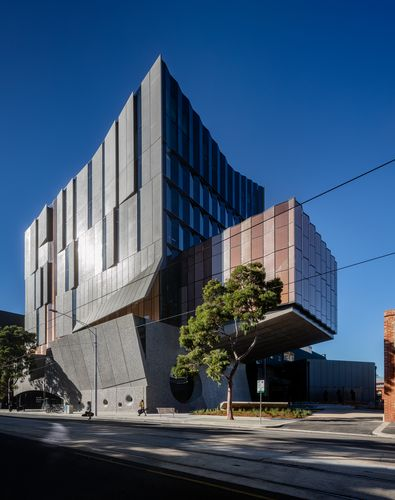 The new home of the Melbourne Conservatorium of Music..